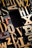 背景复制木活版的空间 免版税库存照片