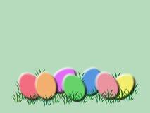 背景复活节彩蛋 库存照片
