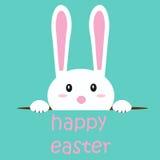 背景复活节兔子 皇族释放例证