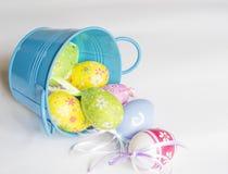 背景复活节彩蛋设置了三 图库摄影