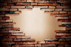 背景多孔grunge的金属看见墙壁 库存照片