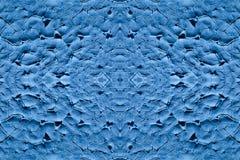 背景大大小,蓝色颜色 免版税库存照片