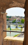 背景大教堂bernini城市喷泉彼得・罗马s方形st梵蒂冈 图库摄影