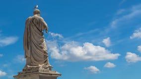 背景大教堂bernini城市喷泉彼得・罗马s方形st梵蒂冈 免版税库存照片