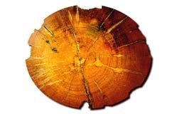 背景大日志老表面柚木树纹理 库存图片