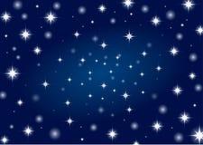 背景天空星形 免版税图库摄影