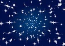 背景天空星形 库存照片