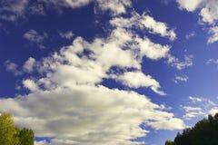 背景天空 免版税图库摄影