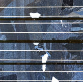 背景太阳面板的次幂 库存照片