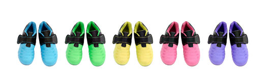 背景子项查出s空白鞋子的体育运动 免版税图库摄影