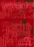 背景字体纹理 图库摄影
