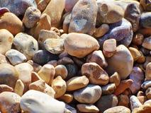 背景小卵石 库存照片