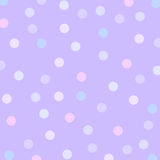 背景小点淡紫色 免版税库存图片