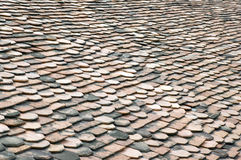 背景屋顶板岩 免版税库存图片