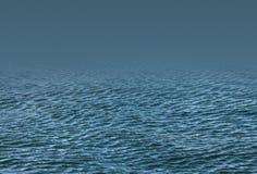 背景峡湾光芒海运星期日 免版税库存照片
