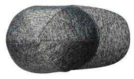 背景帽子查出的白色 有遮阳的帽子 杂色的ha 免版税库存图片