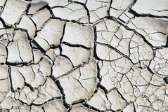 背景干燥地球纹理 库存照片