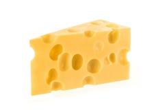 背景干酪查出的白色 Brot 免版税库存图片