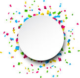 背景庆祝五彩纸屑快乐的墙纸 免版税库存图片