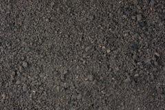 背景庭院潮湿土壤顶层 免版税库存图片