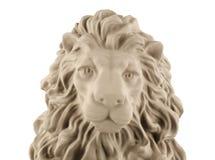 背景庭院题头狮子照片雕象 库存图片