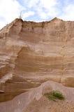 背景建筑坑沙子特殊 免版税库存图片