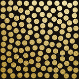 背景弯曲框架金子宏观老纹理 提取背景金子 免版税库存照片