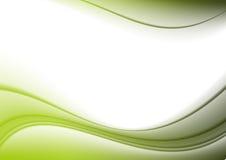 背景弯曲绿色 皇族释放例证