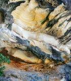 背景形成岩石 免版税库存图片