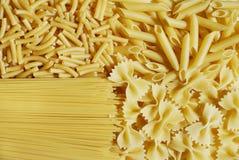 背景意大利人意大利面食 图库摄影
