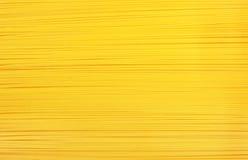 背景意大利面食黄色 库存图片