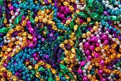 背景成串珠状gras mardi 库存图片