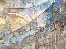 背景或概念现代抽象派,五颜六色的条纹 库存照片