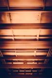 背景或纹理的3有选择性的铁结构 免版税库存图片
