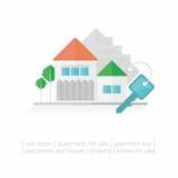 背景房子例证关键字向量白色 图库摄影