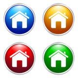 背景按钮概念性家庭墙纸 图库摄影