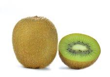 背景接近的果子查出在白色的猕猴桃 库存图片