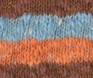 背景接近的编织的纺织品  图库摄影