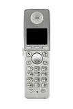 背景数字式查出的电话voip白色 图库摄影