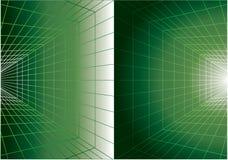 背景数字式绿色 图库摄影