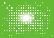 背景数字显示绿色 库存例证