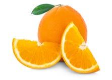 背景新查出的橙色白色 免版税库存图片