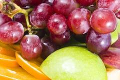 背景新鲜水果 免版税库存照片