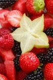背景新鲜水果 库存图片