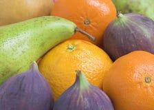 背景新鲜水果 免版税库存图片