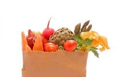 背景新鲜蔬菜白色 库存照片