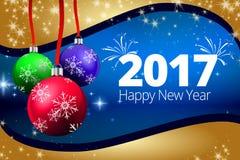 背景新年好 免版税库存图片