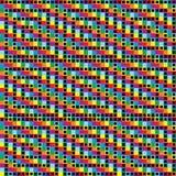 背景方格的彩虹 免版税库存图片