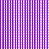 背景方格花布紫色无缝 免版税库存照片