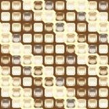 背景无缝巧克力的马赛克 免版税图库摄影